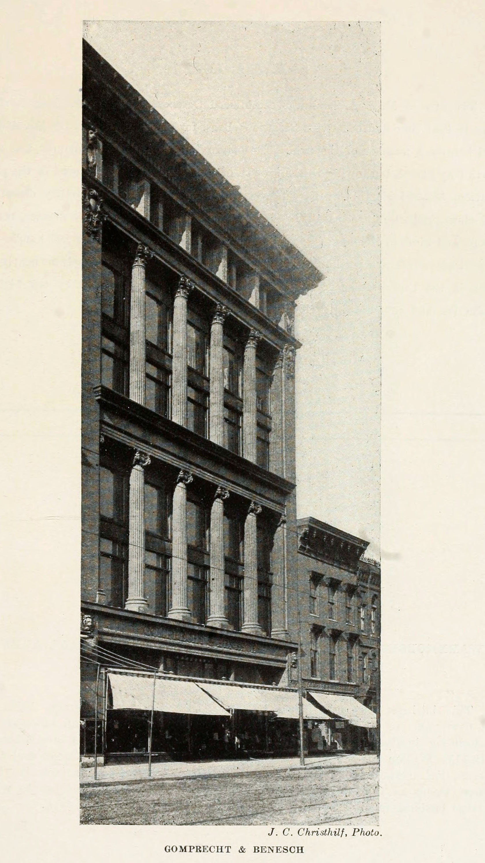 Gomprecht & Benesch Building on Eutaw Street